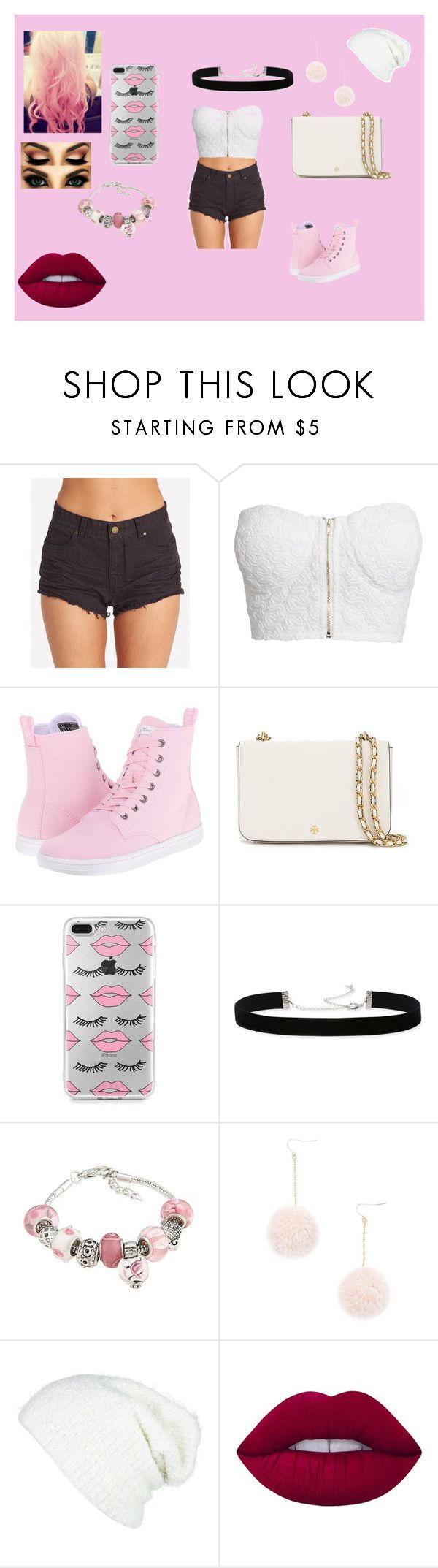 """aicia"" by analuizam-ferreira-rbd on Polyvore featuring beleza, Billabong, NLY Trend, Dr. Martens, Tory Burch, 2028, La Preciosa, Forever 21, Cotton Candy e Free People"