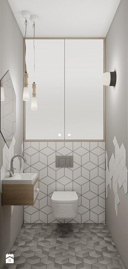 Schwarz Weiß Und Grau Badezimmer Dekor #fliesen #badewanne #moderne #wei  #badezimmerfliesen
