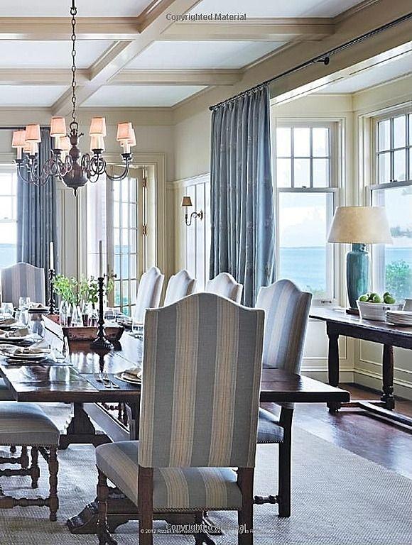 Love the colors! #diningrooms  #diningroomdesigns homechanneltv.com