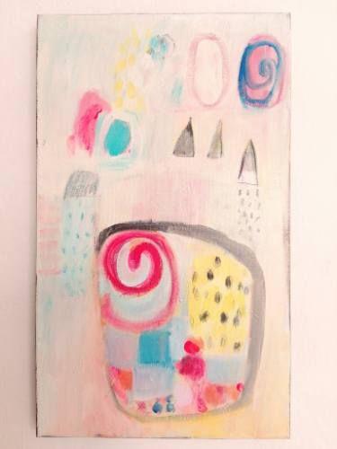 "Saatchi Art Artist Malgorzata Kobus; Painting, ""The story of a princess"" #art"