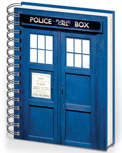 We can�t confirm this note book is as advanced as the Tardis but it is handy and versatile, just like the real thing.