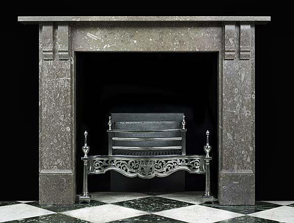 Corbel Fossil Marble Victorian Fireplace   Westlan…
