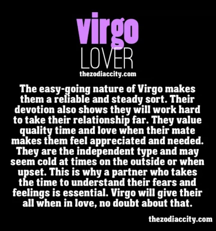 virgo girl in love