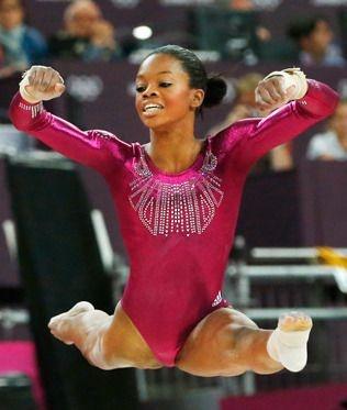 Gabrielle Douglas, campeona olímpica en el concurso individual de gimnasia artística de los Juegos Olímpicos Londres 2.012