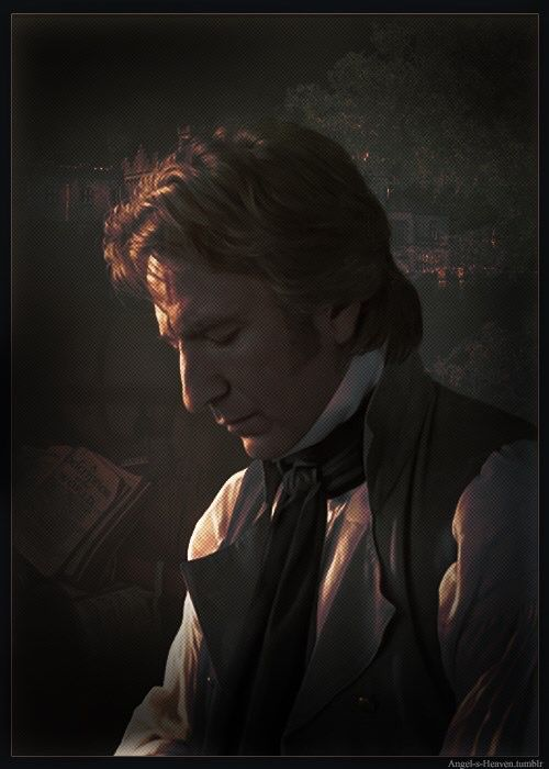 "The late, dear great Alan Rickman. As Col. Brandon in ""Sense and Sensibility"" - 1995"