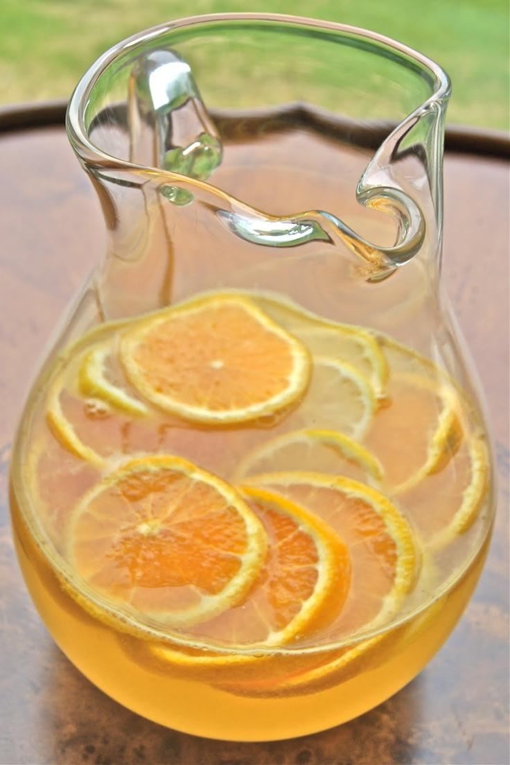 Healthy and Gourmet: Citrus Sangria | Drinks! | Pinterest | Sangria