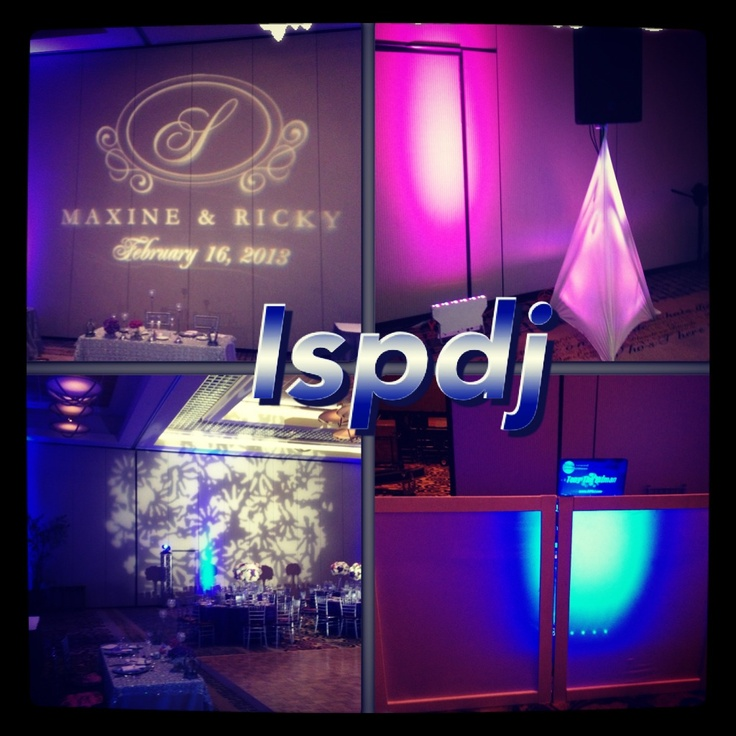 Wedding lighting and dj by Ispdj.com