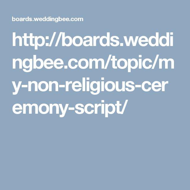 http://boards.weddingbee.com/topic/my-non-religious-ceremony-script/
