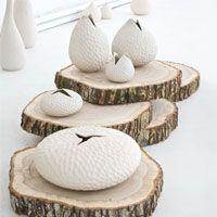 organic shaped pottery