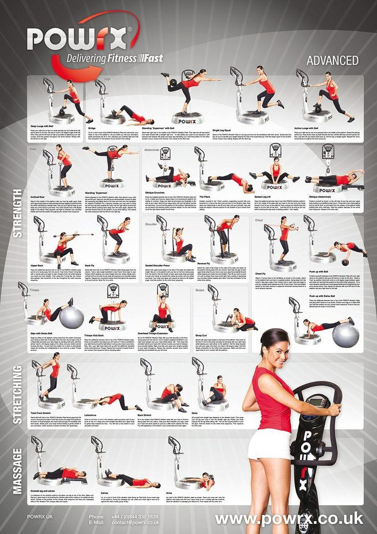 37 best whole body vibration exercises images on Pinterest ...