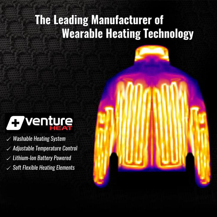 Venture Heat® is the manufacturer of Clothing Apparel for Winter and Power Sports such as Motorcycle Clothing and next generation of Far Infrared Heat Therapy Products. Venture Heat® Heated Jackets consistently beats the competition. #heatedjackets #heatedvests #heatedhoodie #heatedsweaters #heatedgear #heatedapparel #heatedgloves #heatedpants #heatedshirts
