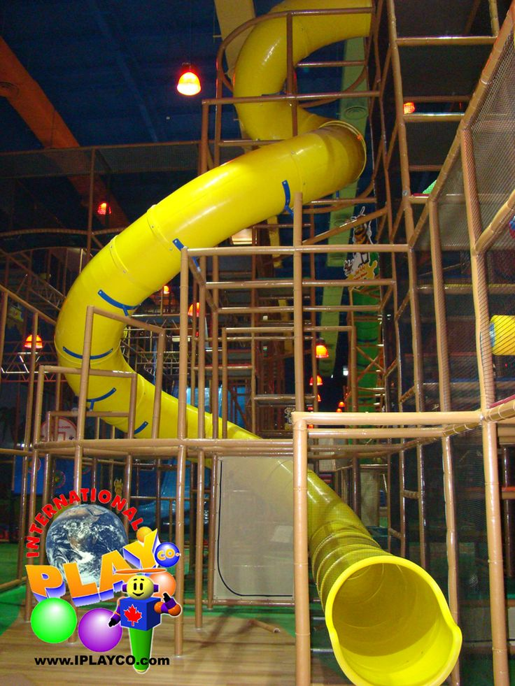 1000 images about family entertainment centers indoor for Indoor play slide
