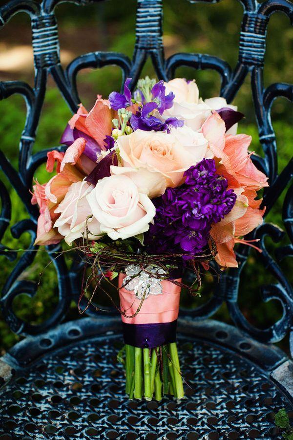 Pretty - purple coral bouquet                                                                                                                                                                                 More