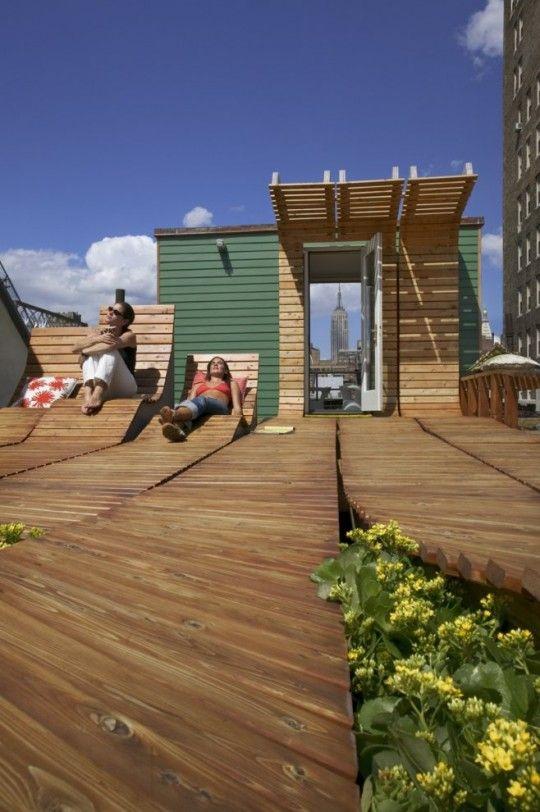toit terrasse solarium