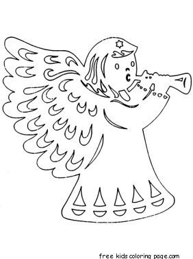 Free Online Clipart Christmas Coloring Pages Cut Outs For KidsPrintable Tracing Worksheets Kids