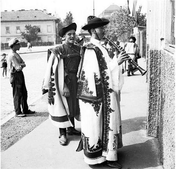 Csikós klarinéttal a Hortobágyon 1935