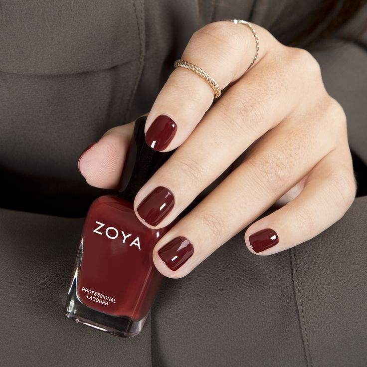 Zoya Pepper Marsala Nail Polish
