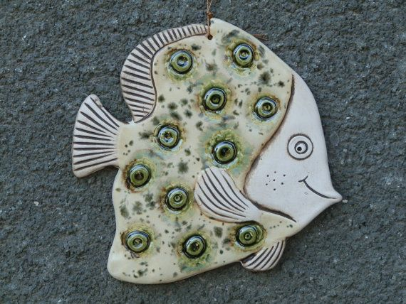 Hey, I found this really awesome Etsy listing at https://www.etsy.com/listing/238176946/fish-ceramic-fish-fish-tile-funny-fish