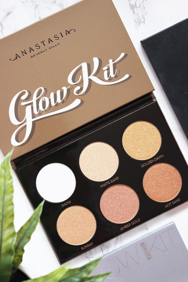 Anastasia Beverly Hills Ultimate Glow Kit   Review & Swatches