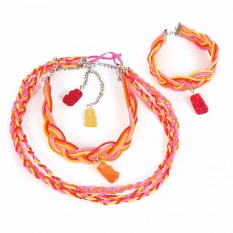 Candy Pop Neon Twist Jewelry Making kit