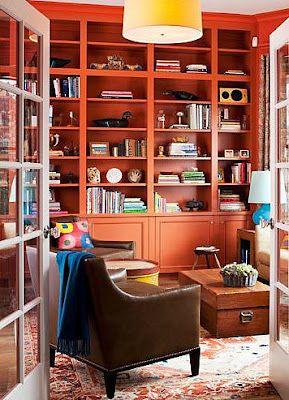 John Bedell-coral-bookshelves