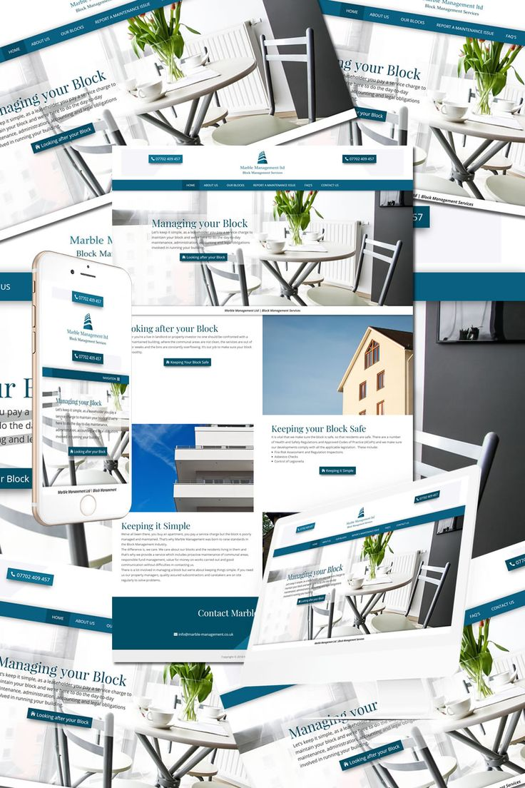 New Website for Marble Management London https://hostcat.co.uk/project/marble-management-london/