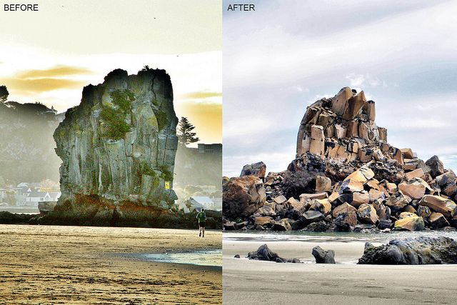 Shag Rock | Sumner | Before | Shag Pile | After