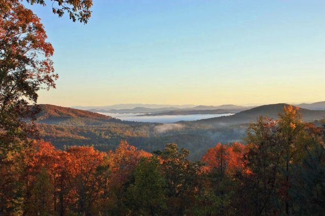 View from the Top | Blue Ridge Cabin Rentals