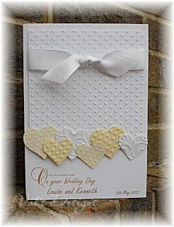 Would make a beautiful Anniversary | http://weddingcardtemplates.blogspot.com