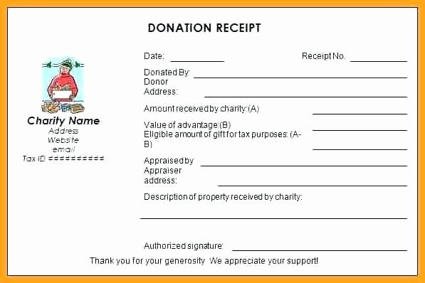 Charitable Donation Receipt Template Best Of Receipt Wording Charitable Contribution Receipt Charitab Donation Letter Receipt Template Donation Letter Template