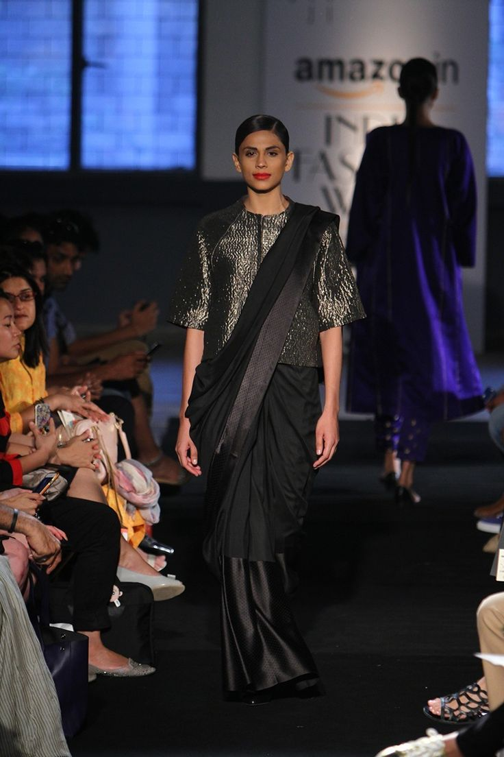 Sanjay Garg at Amazon India Fashion Week Spring/Summer 2016