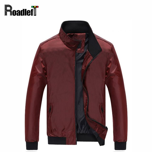 Check it on our site 2017 Male casual slim fit thin stand collar jacket parka Men's waterproof jackets outerwear Men windbreaker coat just only $20.70 - 22.95 with free shipping worldwide  #jacketscoatsformen Plese click on picture to see our special price for you