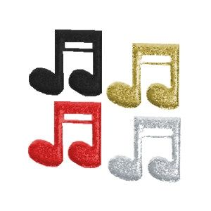 Double Music Note Cut Outs for Music Themed Centerpieces. Made of foam board with a cracked ice finish. Choose from 18 colors. http://www.awesomeevent.com/Double-Music-Notes-P483.aspx