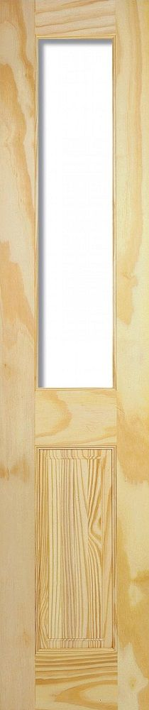 Leeds Doors Richmond 1 Light 2 Panelled 78x15 Clear Pine - internal doors - clear pine - Richmond 1 Light 2 Panelled 78x15 Clear Pine - Timber, Tool and Hardware Merchants established in 1933