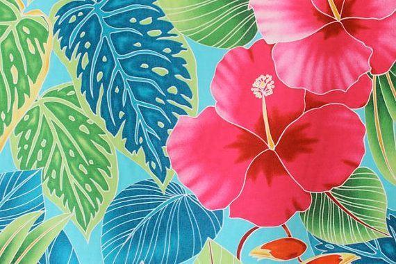hawaiian Print | Hawaiian Print Background Tropical hawaiian print in