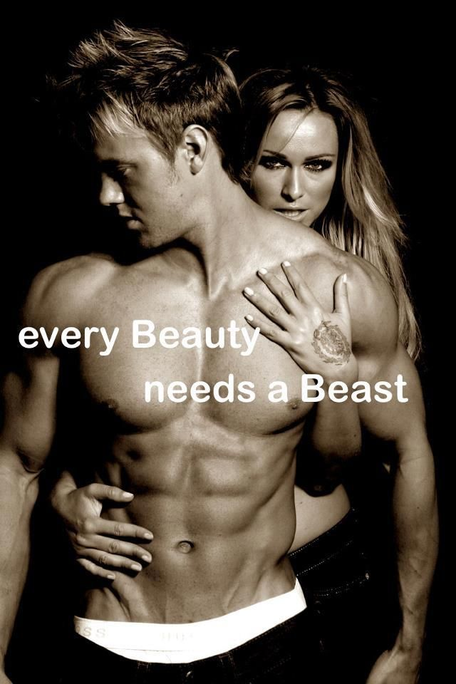 Depending on which is the beast, the beast could be a bit more beastly ...