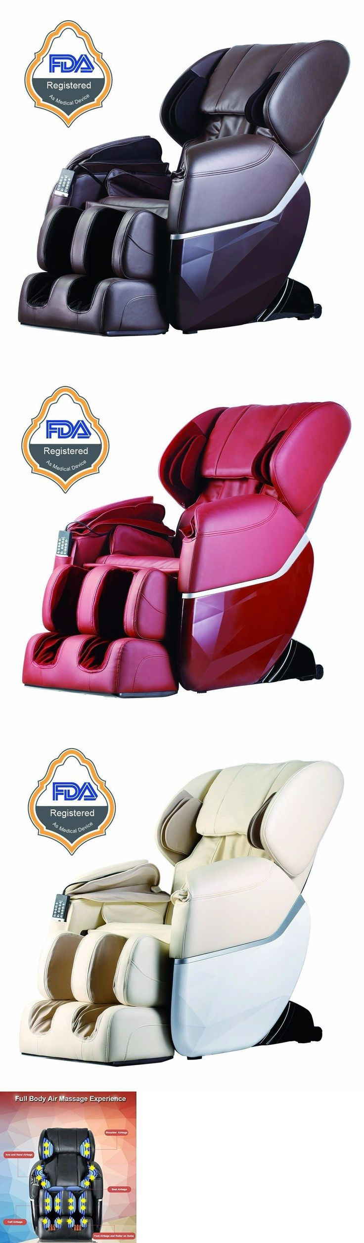 Electric Massage Chairs: New Electric Full Body Shiatsu Massage Chair Foot Roller Zero Gravity W/Heat BUY IT NOW ONLY: $800.0