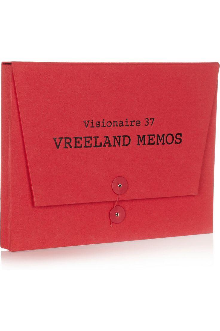 Visionaire|37 Vreeland Memos