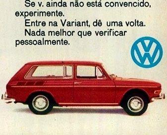 1970 VW Variant - Brasil