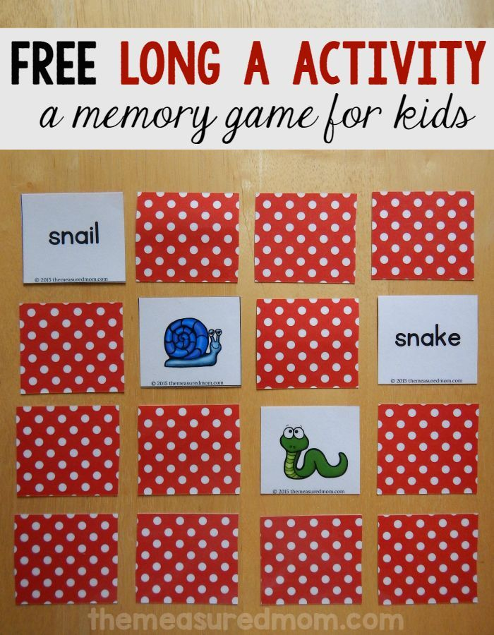 Looking for a long a game to help your child master words with ay, ai, and a-e? Try this free matching game!