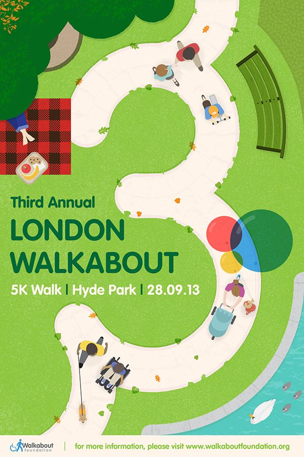 Third Annual London Walkabout Poster on Behance