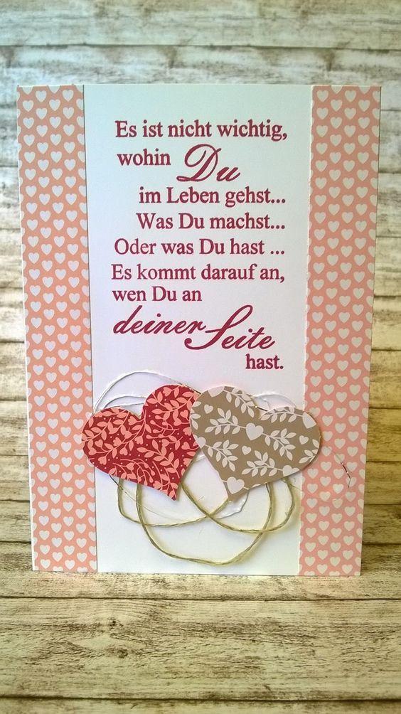 Kreatives Herzerl: Viele Hochzeitskarten