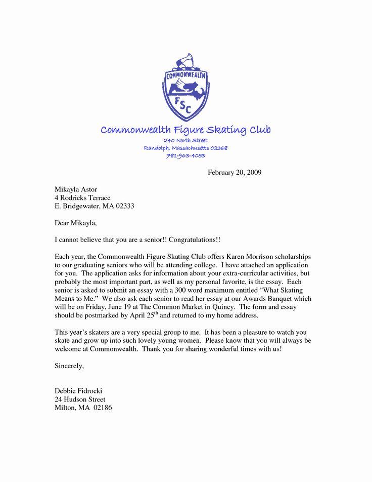 cover letter for scholarship unique scholarship