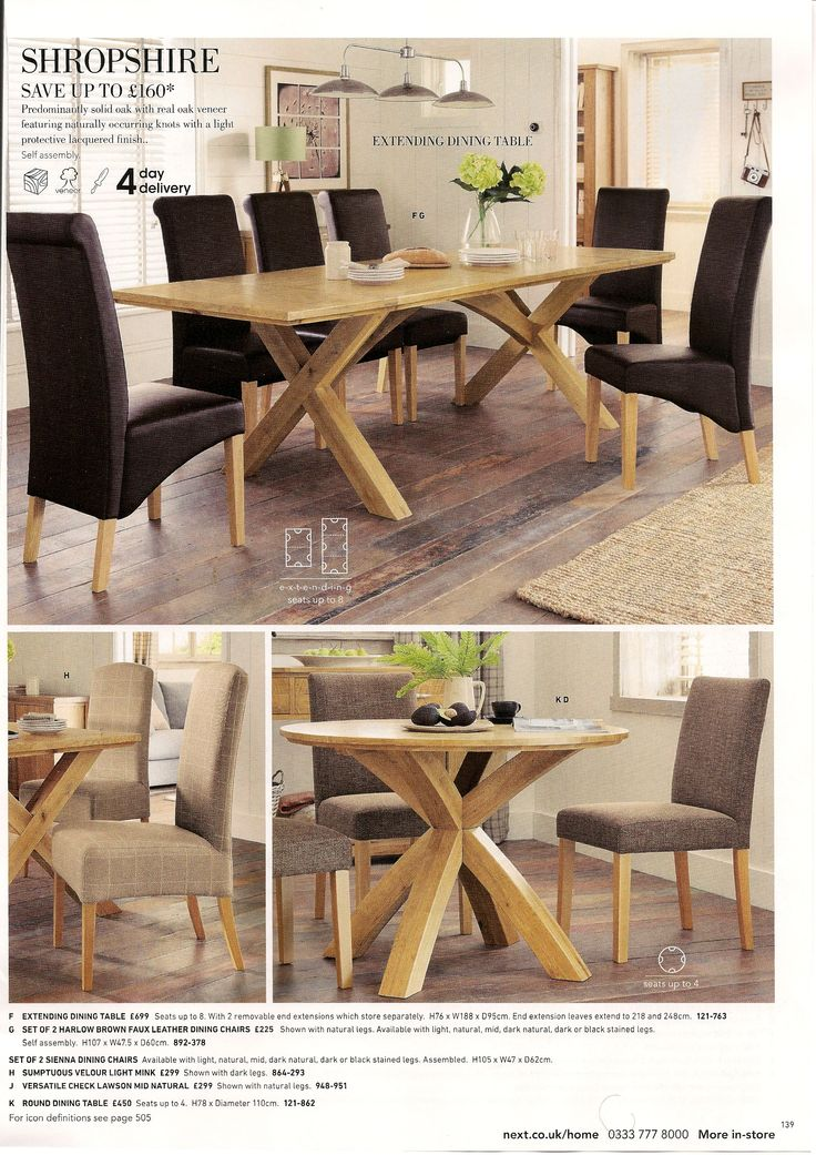Shropshire Dining Table Ext 699 H 760 W 1880 D 950 Round