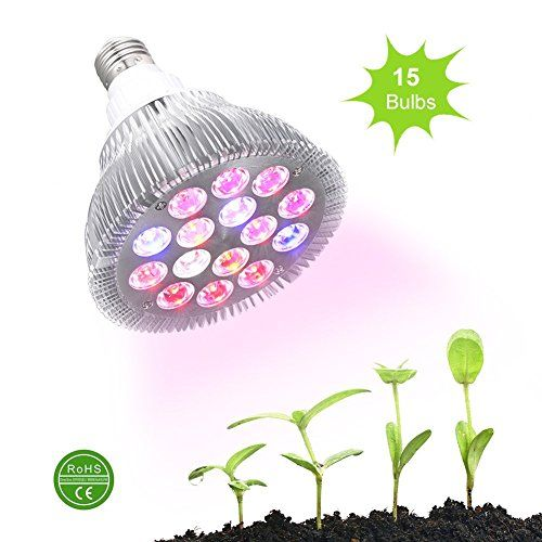 Special Offers - Ledgle 30w Led Grow light Bulb  Miracle Grow Plant Light for Hydropoics Organic Mini Greenhouse3 Bands with 15 LED Bulbs For Sale - In stock & Free Shipping. You can save more money! Check It (October 15 2016 at 11:57PM) >> http://growlightusa.net/ledgle-30w-led-grow-light-bulb-miracle-grow-plant-light-for-hydropoics-organic-mini-greenhouse3-bands-with-15-led-bulbs-for-sale/