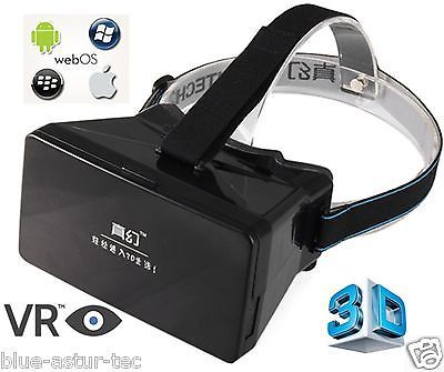 Gafas VR Smartphone / 3D Virtual Reality Headset. Iphone Samsung Sony HTC Google