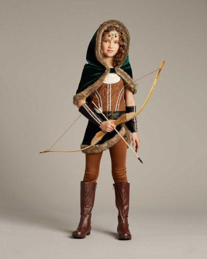 girls archer costume