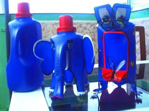 Carros Reciclados #06 de Embalagem de Sabão Líquido Como Fazer - YouTube