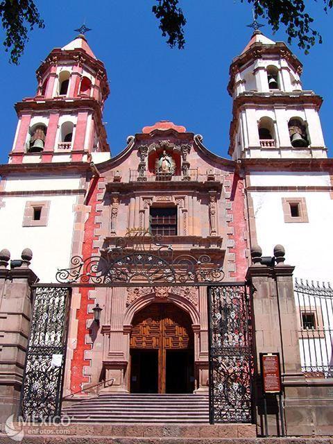 Temple of the Congregation, Santiago de Queretaro, Queretaro, Mexico