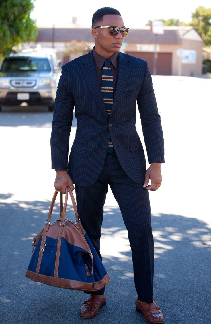 25  best ideas about Black men's fashion on Pinterest | Mens style ...
